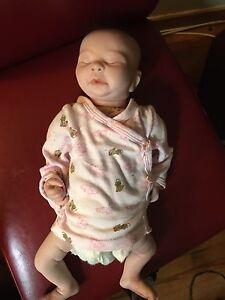 Realistic baby girl