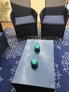 Patio Set/Bistro/outdoor /love seat/ chair /cushions