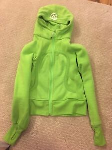 2 lulu lemon zip up hoodies just like new