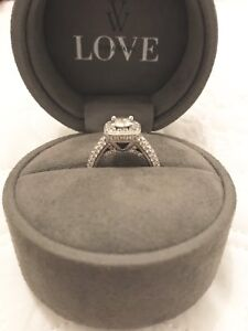 VERA WANG LOVE COLLECTION 1.44CT. 18CT WHITE GOLD