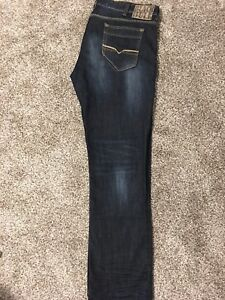 New Mens Black Bull Jeans