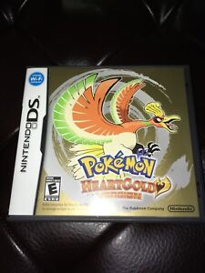 Pokémon Heartgold version NDS with box!