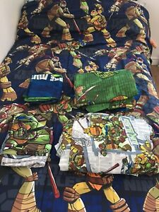 Ninja Turtles Twin Comforter Set