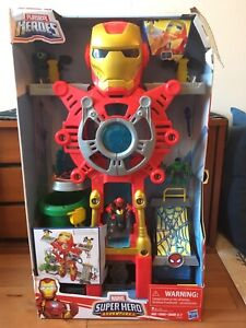 Iron Man Headquarters. Brand new. Unopened.