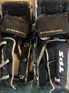 Used goalie pads