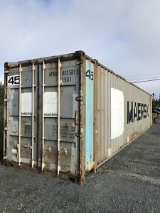45' EXTRA LONG. High Cube Storage Container