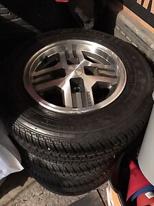 Mint condition 1985 Mazda RX7 wheels