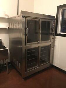 Commercial bakery equipment - oven, slicer, pans, etc