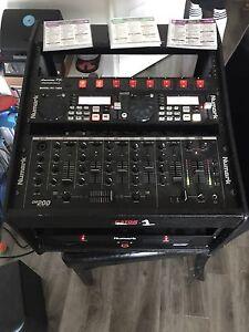 Numark complete DJ console
