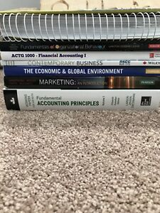 Nscc business admin year 1 textbooks