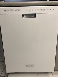 White Kitchenaid Dishwasher