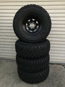 Brand new 33 inch mud tyres on brand new black Dynamic wheels Caboolture Caboolture Area Preview
