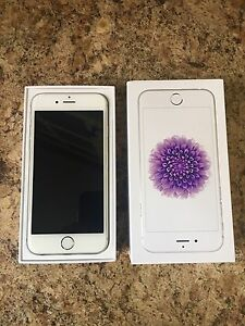 Silver iPhone 6 16gb