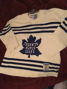 94a5ccb6b Toronto Maple Leafs CCM vintage leafs classic cream jersey 1930s