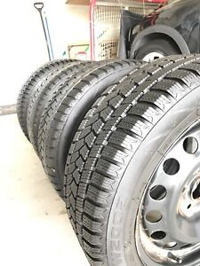 Selling a set of 4 lightly used winter tires 95% tread