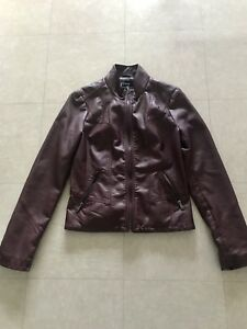 Pleather Jacket Women's Size Small