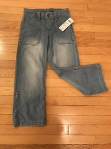 Beautiful brand new jeans adjustable length with tag on.