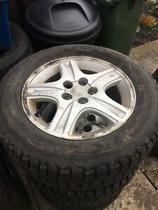 215 60R16 Firestone Winter Tires & Toyota Camry