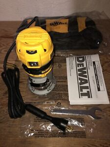Dewalt 1-1/4 HP MAX TORQUE VARIABLE SPEED COMPACT ROUTER