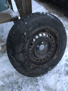 BRAND NEW STUDDED WINTER TIRES