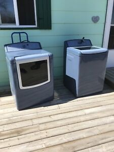 Kenmore Elite Oasis washer and dryer