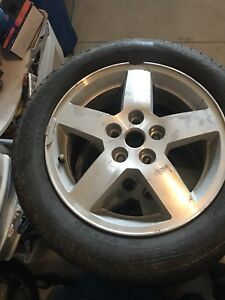Chevy Cobalt rims and tires