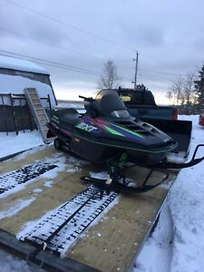 Wanted! 550 or 580 Arctic cat parts sled!!!!!