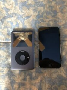 iPod Classic 169gb and IPod Touch 8gb
