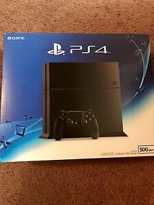 Matte Black PS4 500GB