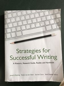 Strategies for Successful Writing UPEI 1010