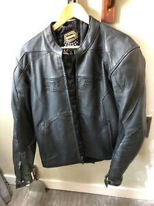 Motorcycle riding jacket.