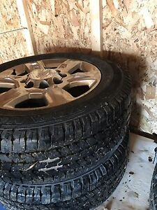 Chevrolet 2500 rims and tires