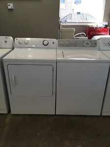 GE washer dryer set 2 years old