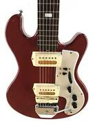 Guyatone LG-85T, Red, Gold Foil Pickups, 1967-68, Made In Japan Brisbane City Brisbane North West Preview