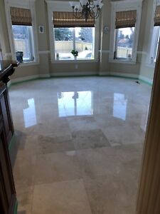 Marble Deep Cleaning, Polishing & Restoration of Natural Stone