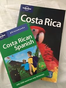 Lonely planet Costa Rica travel books