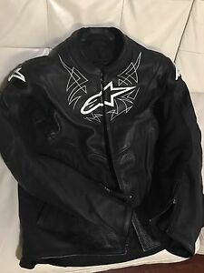 Alpine star leather jacket Black (USA 46 - large)