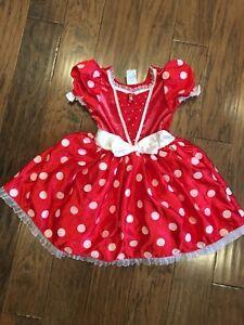 Minnie Mouse dress (size 7/8)