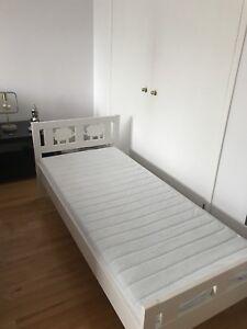 Lit de transition Ikea blanc