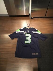 Seattle Seahwaks Wilson SB patch jersey.