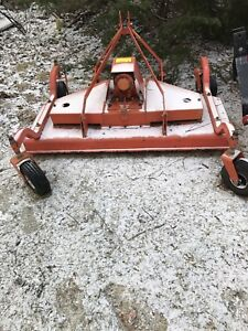5 foot Kubota Finish Mower 3 point hitch