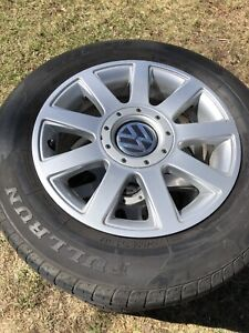 VOLKSWAGEN wheels and tires all season 195/65R15