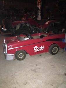 1957 chevy go cart gas power. 200cc