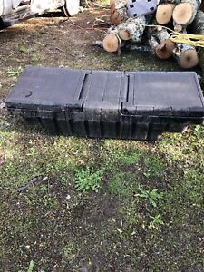 Black tool box off a ford ranger