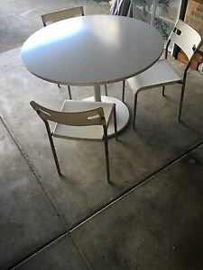 Ikea dining table with chairs Camberwell Boroondara Area Preview