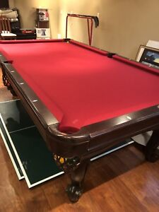 Pool table and ping pong in one - professional series