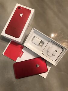 Iphone 7 RED SPECIAL EDITION Rouge UNLOCKED