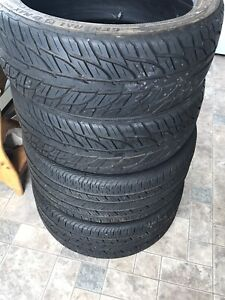 """2 pairs of 18"""" Tires"""