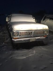 1970 ford parts truck
