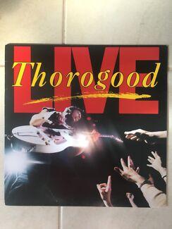 George Thorogood Live Vinyl Record Album LP